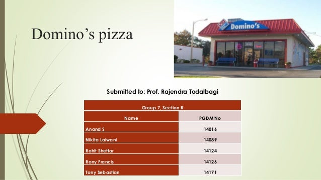 dominos case study Check out this case study on domino's re-branding campaign.