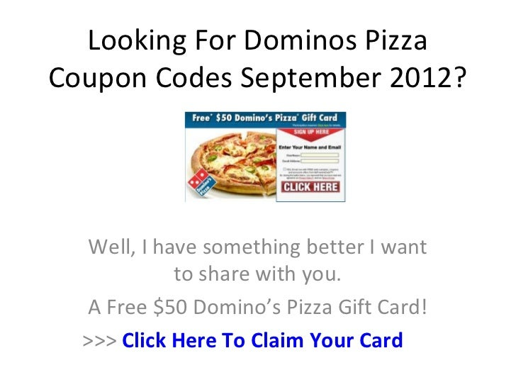 Dominos coupon codes delivery