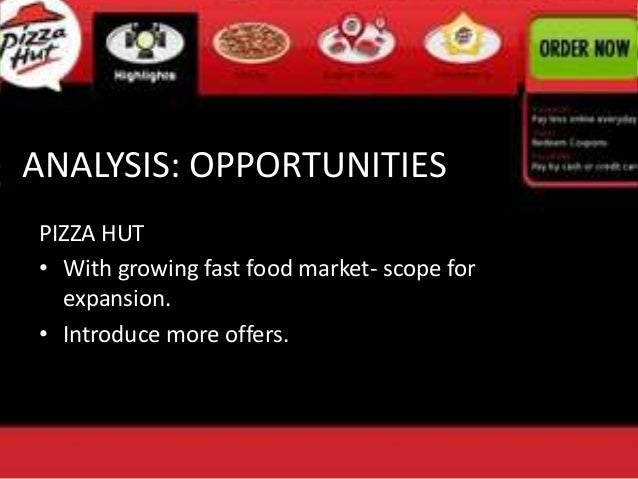 The SWOT Analysis of Pizza Hut