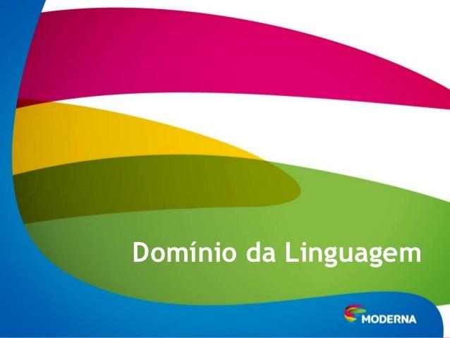 Domínio da Linguagem