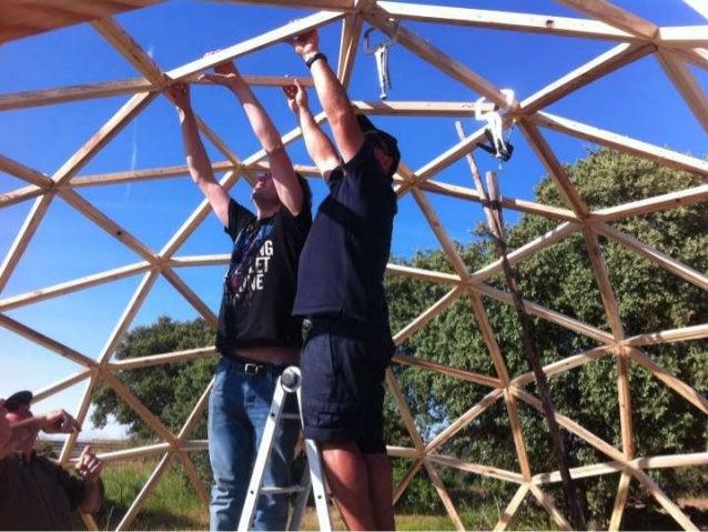 Domo geod sico como hacer invernaderos materiales para construir un - Fabricar un invernadero ...
