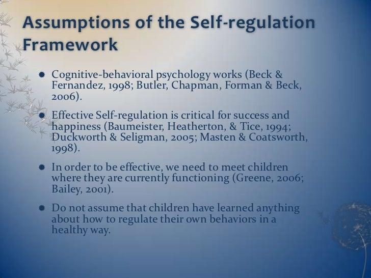 Emotional Regulation Skills Assumptions And Critical Thinking - image 10