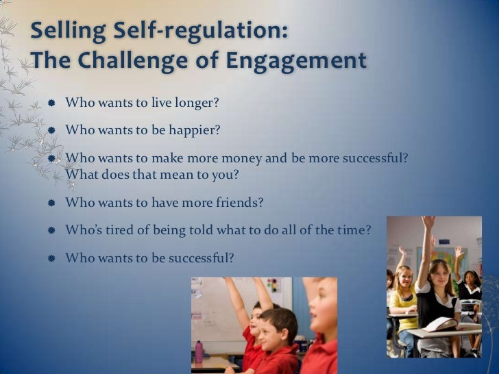 Helping Young Children Learn Self-regulation: Doing More ...