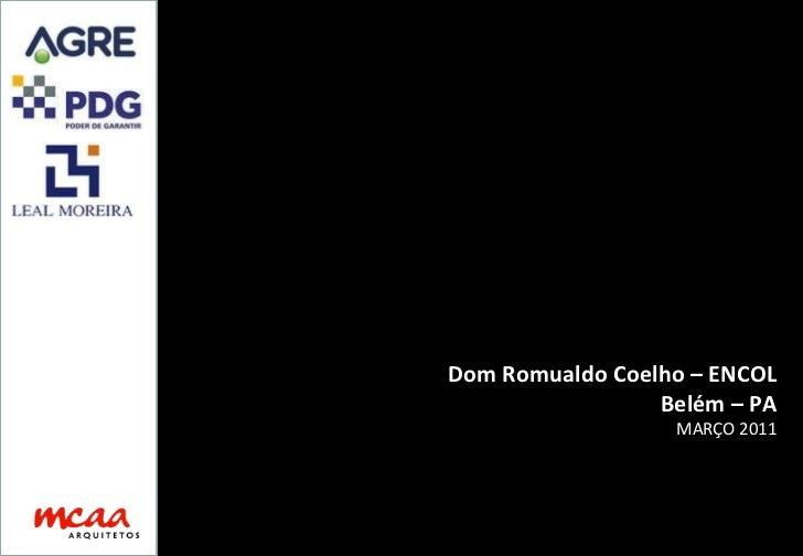 Dom Romualdo Coelho – ENCOL Belém – PA MARÇO 2011
