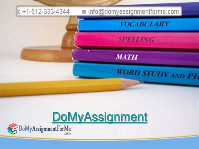 DoMyAssignment