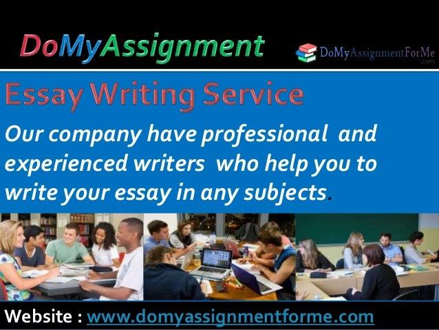 Write My Essay NOW!