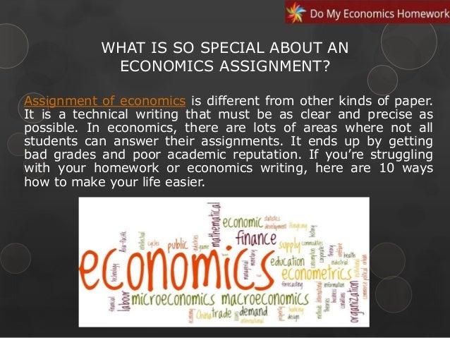 Ways To Make Successful Economics Assignment  Ways To Make Successful Economics Assignment