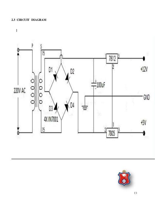 the fabrication of regulated dc power supply rh slideshare net
