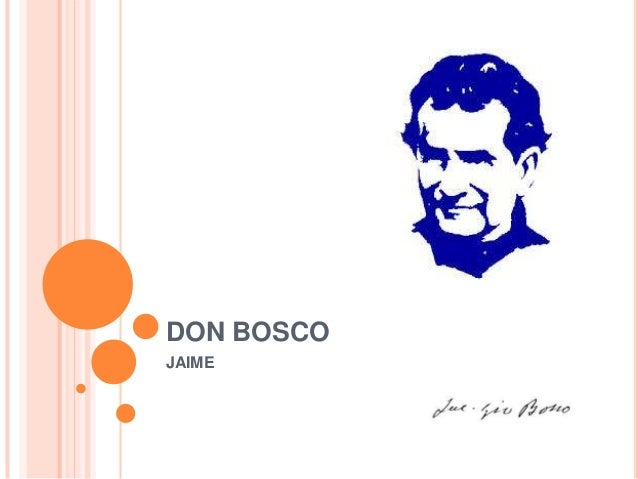 DON BOSCO JAIME