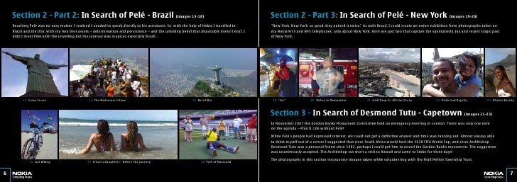 Section 2 - Part 2: In Search of Pelé - Brazil (images 13-18)                                                             ...