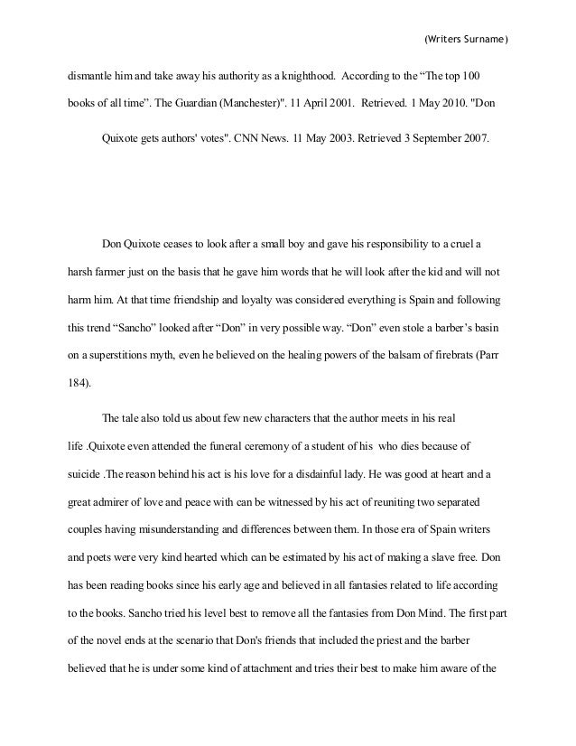 High School Persuasive Essay  High School Years Essay also Fahrenheit 451 Essay Thesis Don Quixote Research Paper Sample Essay Thesis