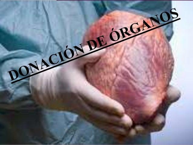 La donación de órganos es una acción altruista, donde se ayuda a mejorar la vida de otra persona.