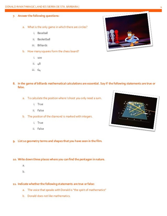 Worksheets Donald In Mathmagic Land Worksheet donald duck mathmagic land worksheet sharebrowse delibertad