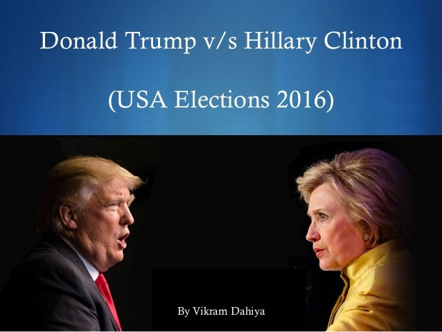 donald trump vs hillary clinton. Black Bedroom Furniture Sets. Home Design Ideas