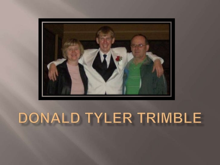 Donald Tyler Trimble<br />