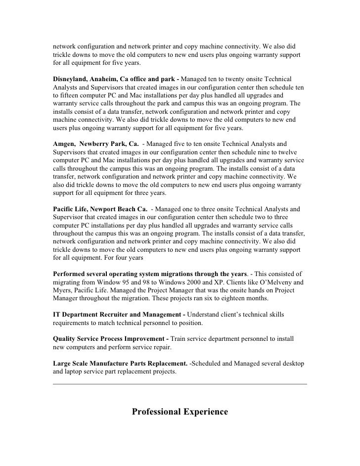 resume project ideas sle project management resume 28