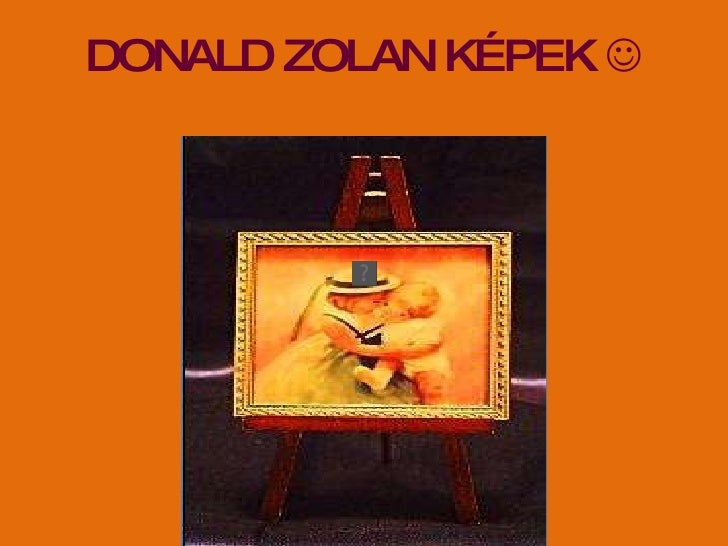 DONALD ZOLAN KÉPEK  