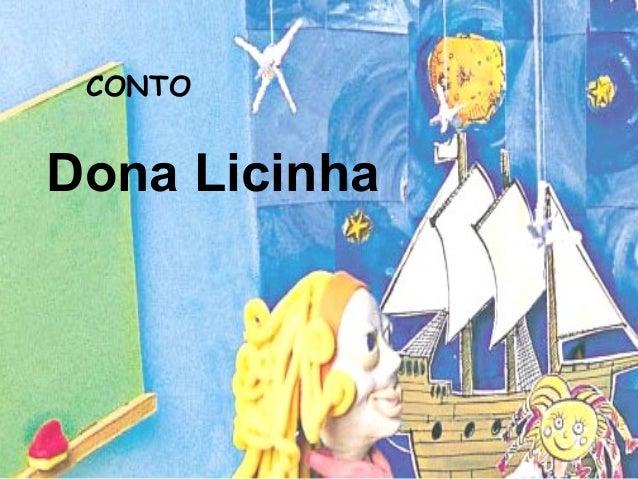 CONTO  Dona Licinha