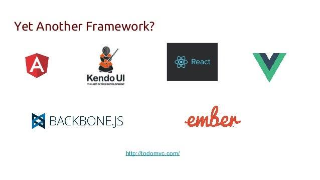 Yet Another Framework? http://todomvc.com/ ...