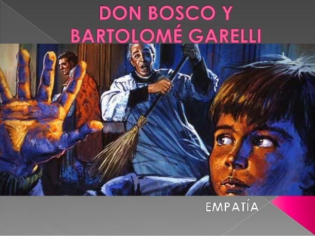 El 8 de diciembre de 1841 Don Bosco conoce a Bartolomé Garelli en la sacristía de San Francisco de Asís. Ahí comienza la l...