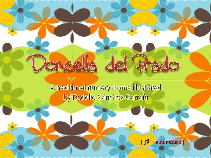[   –   automático   ]  A traditional nursery rhyme illustrated by Rodolfo Sánchez Garrafa