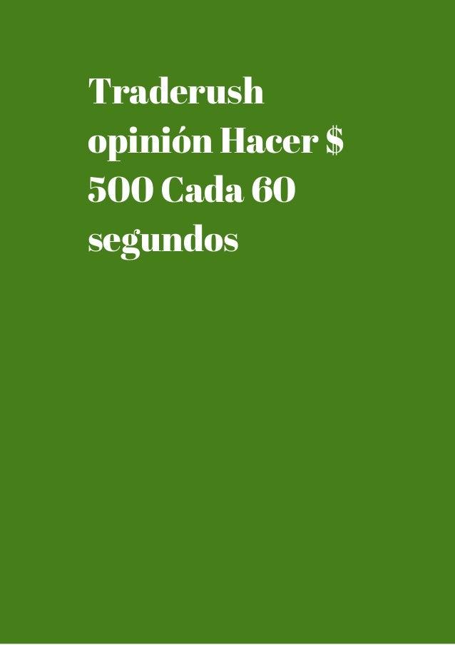 60 segundos corredores de opciones binarias usa