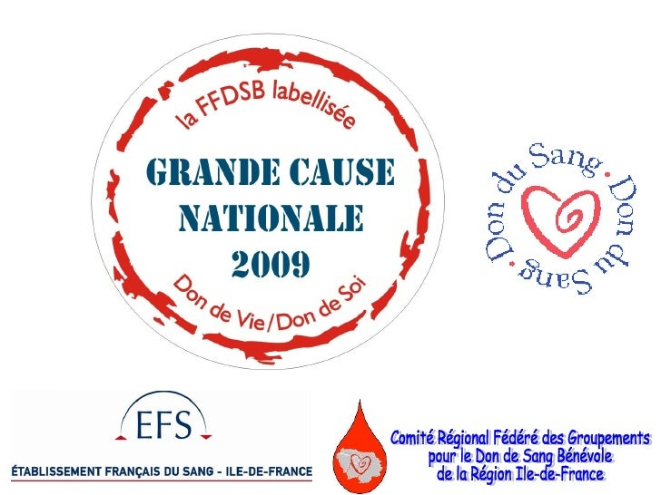 Comité Régional Fédéré des Groupements  pour le Don de Sang Bénévole  de la Région Ile-de-France