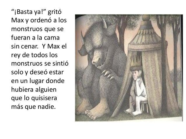 Donde Viven Los Monstruos Maurice Sendak