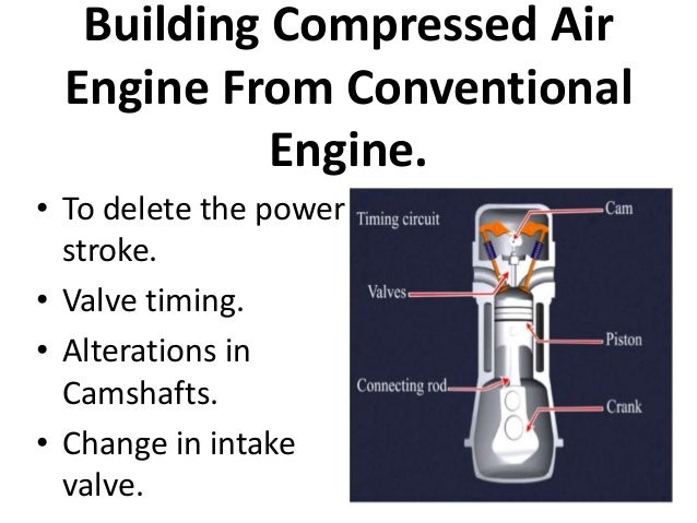 Compressed Air Vehicle