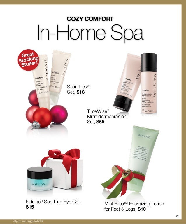 Mary Kay 2012 Holiday Gift Guide