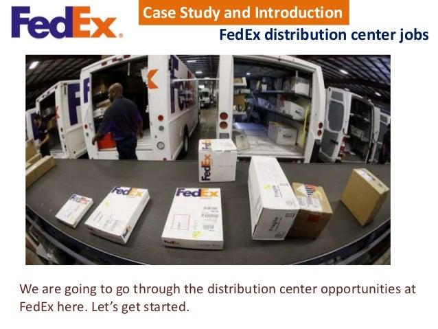 fedex distribution