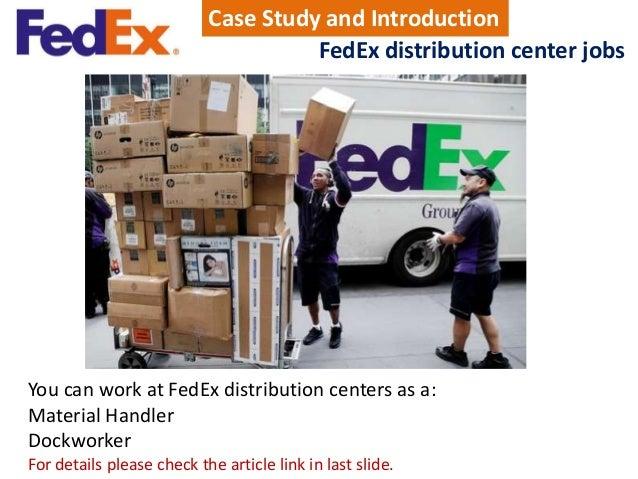 Fedex Jobs Impressive Fedex Distribution Center Jobs