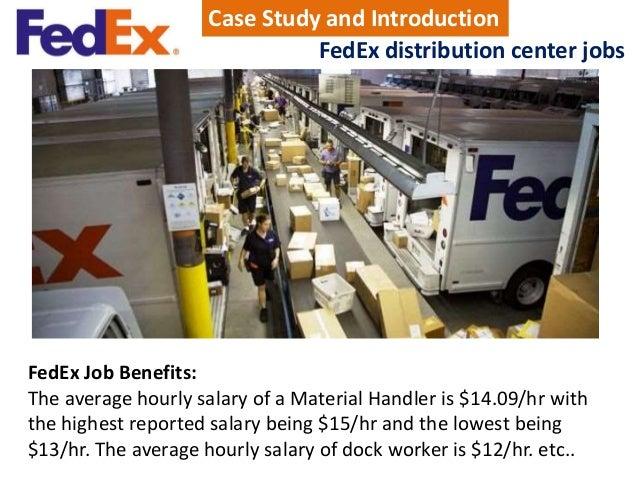 fedex distribution center jobs
