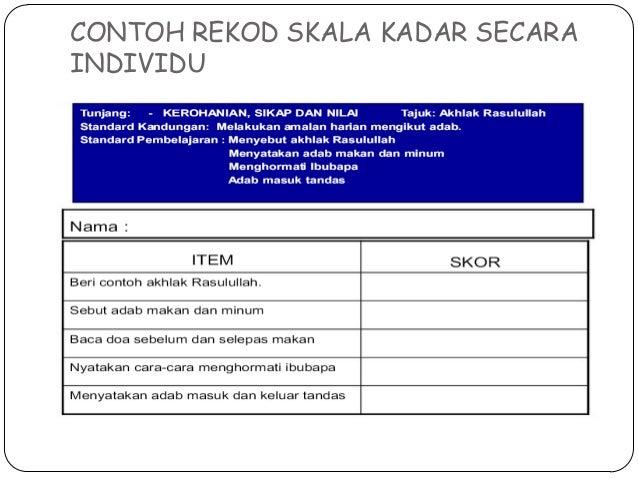 Rekod Rekod Perkembangan Dan Pengesanan