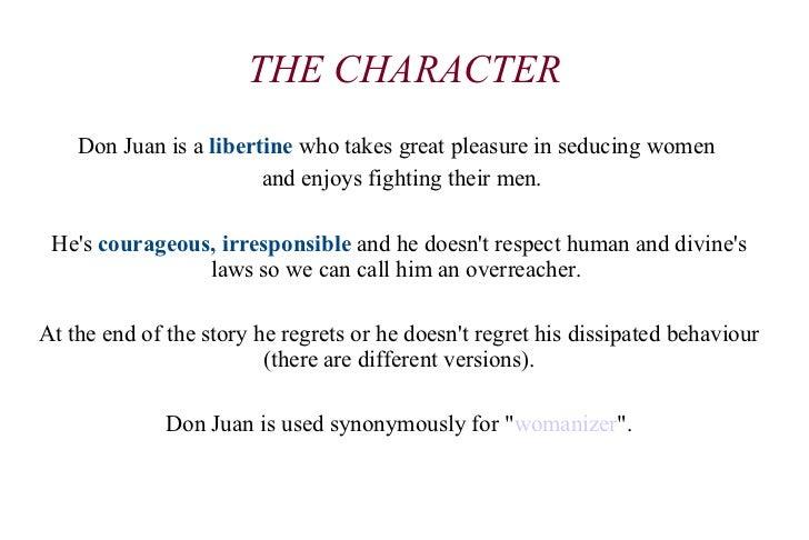 don juan character analysis