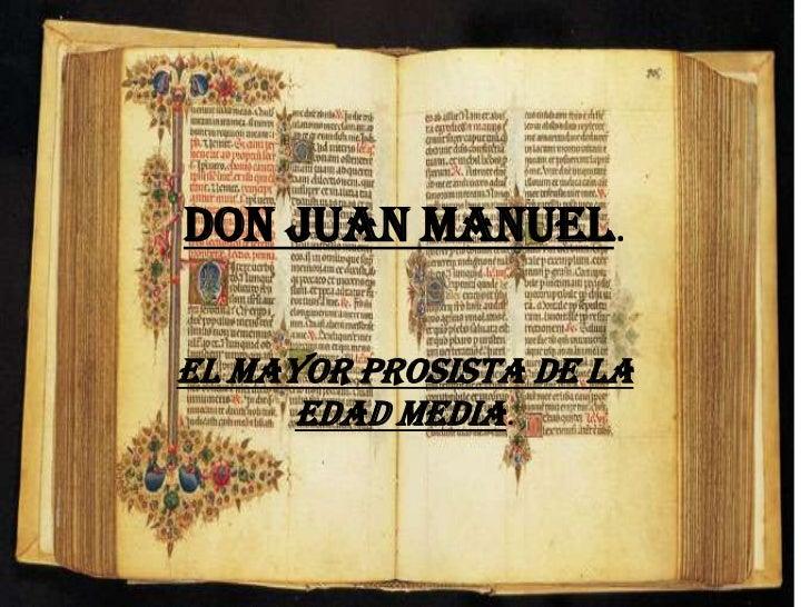 Don juan manuel Slide 2
