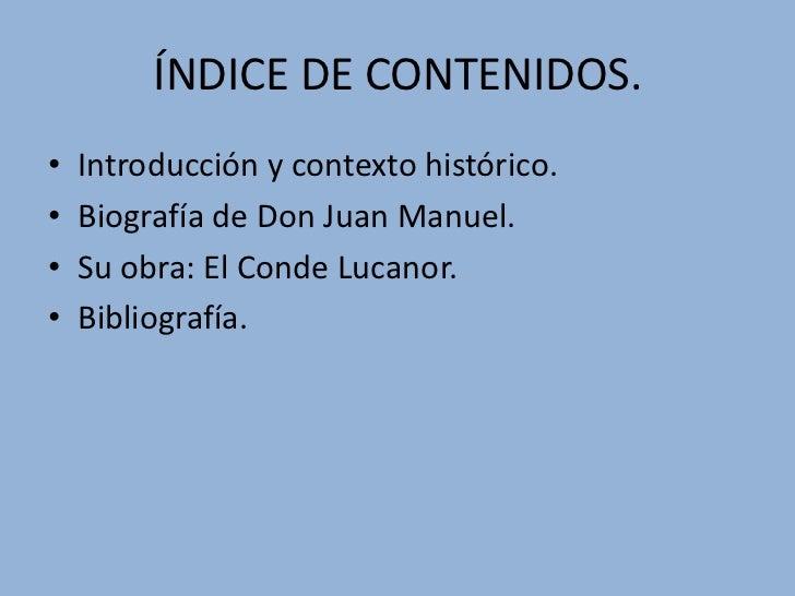 Don juan manuel Slide 3