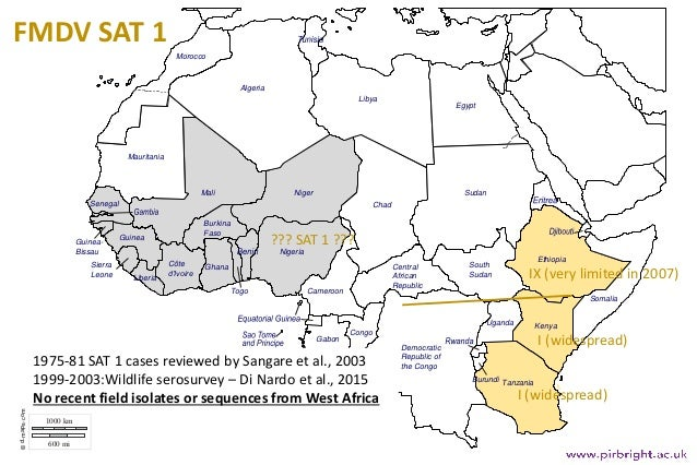 Foot and Mouth Disease in West Africa