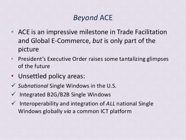 Beyond ACE • The Korean Advanced Single Window System