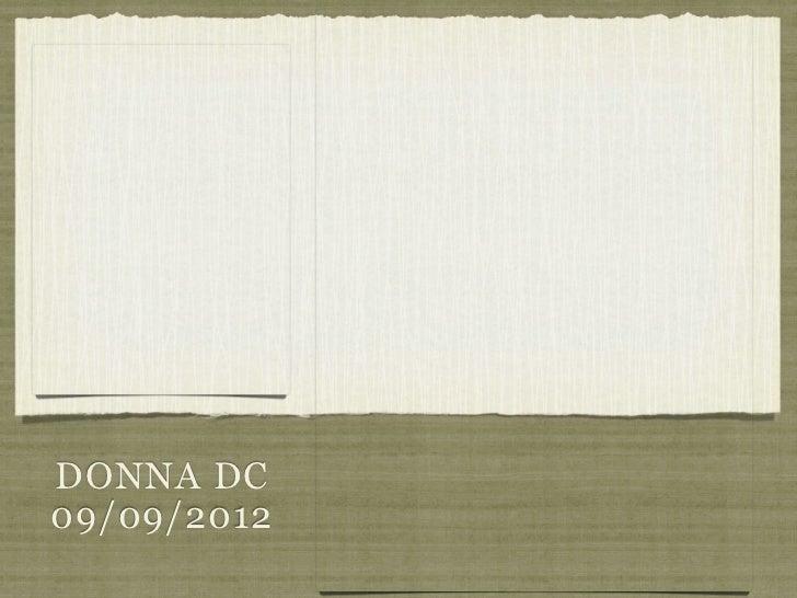DONNA DC09/09/2012