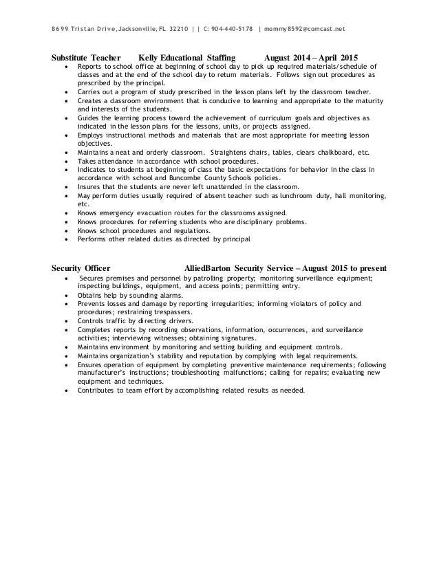 Donna Griffin Electrician Resume