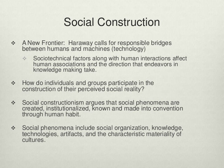 the number of factors that takes role in human identity construction Ecocentric identity and  the construction of identity is assumed to be a lifelong process  our lives as a radical transformation of human identity.
