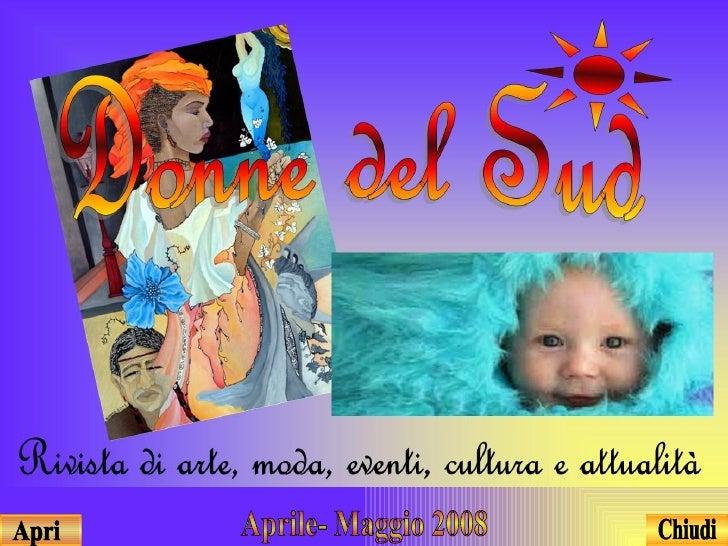 Aprile- Maggio 2008 Apri Chiudi