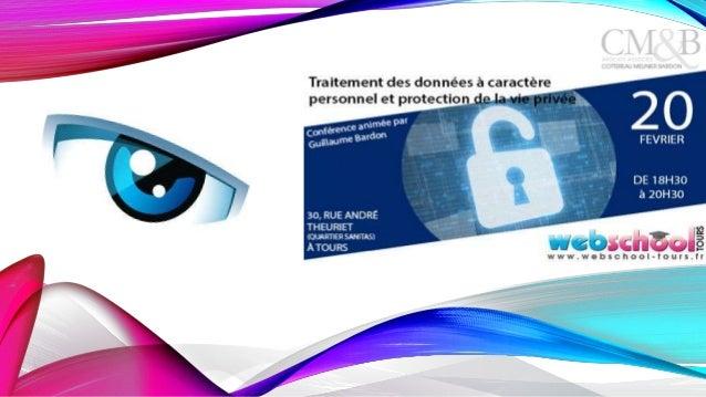 DU CASQUE À L'ENCART…. La vie privée et les données à caractère personnel, un sujet d'actualité