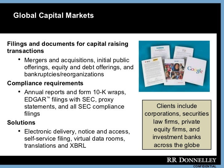 Donnelley business overview_fnancialservices