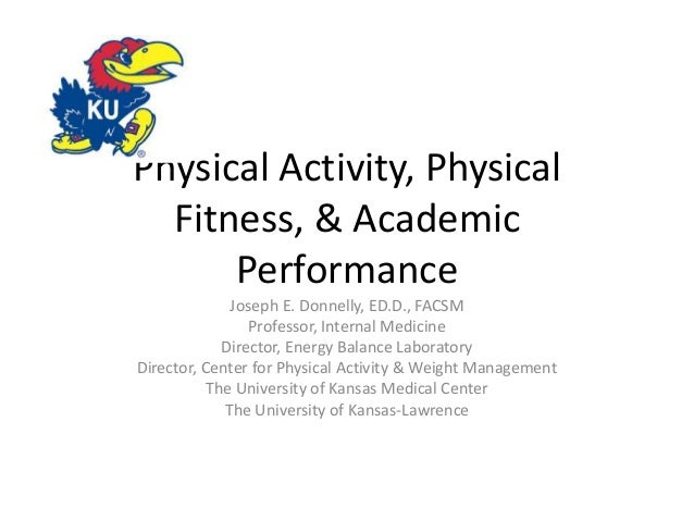 physical activity on academic performance essay The impact of quality physical education on healthy living  can improve physical activity and academic  results in more competent performance during sport and.