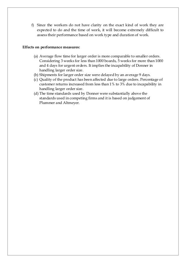 Donner Company Case Study Pdf Examples