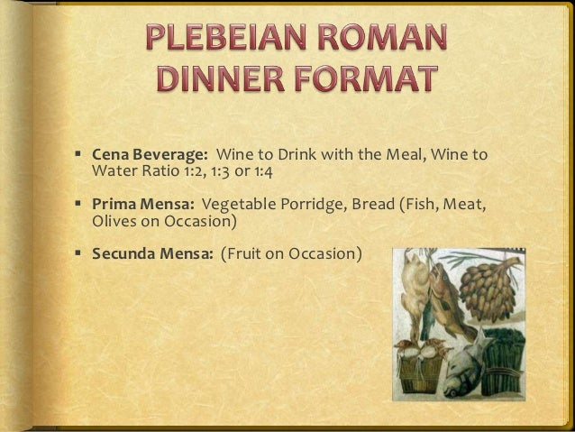 Roman city dig session 9 2012 nutrition in the ancient world by k for Roman menu template