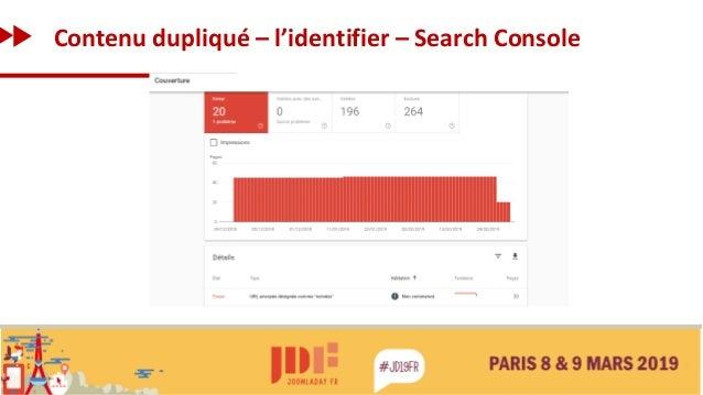 Contenu dupliqué – l'identifier – Search Console