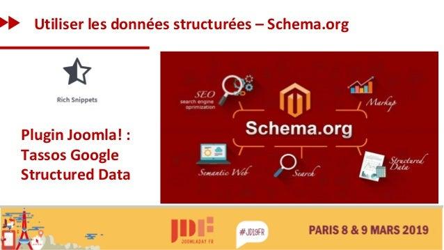 Utiliser les données structurées – Schema.org Plugin Joomla! : Tassos Google Structured Data